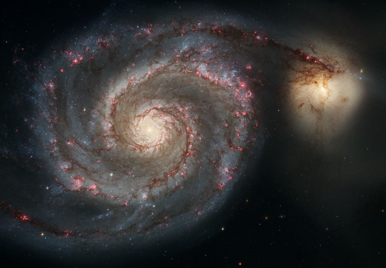 Whirlpool Galaxie M51