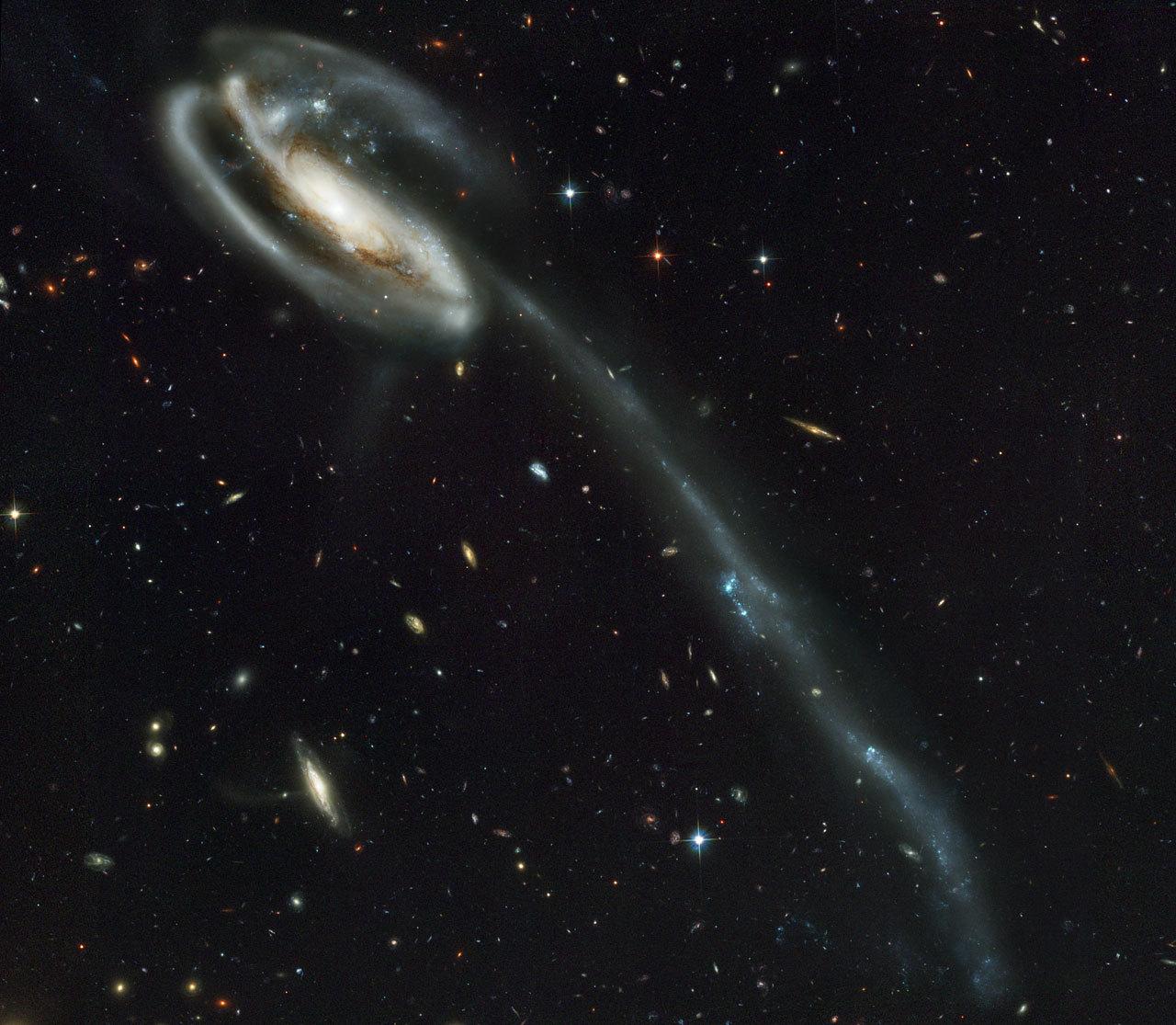 Spiral-Galaxy UGC 10214