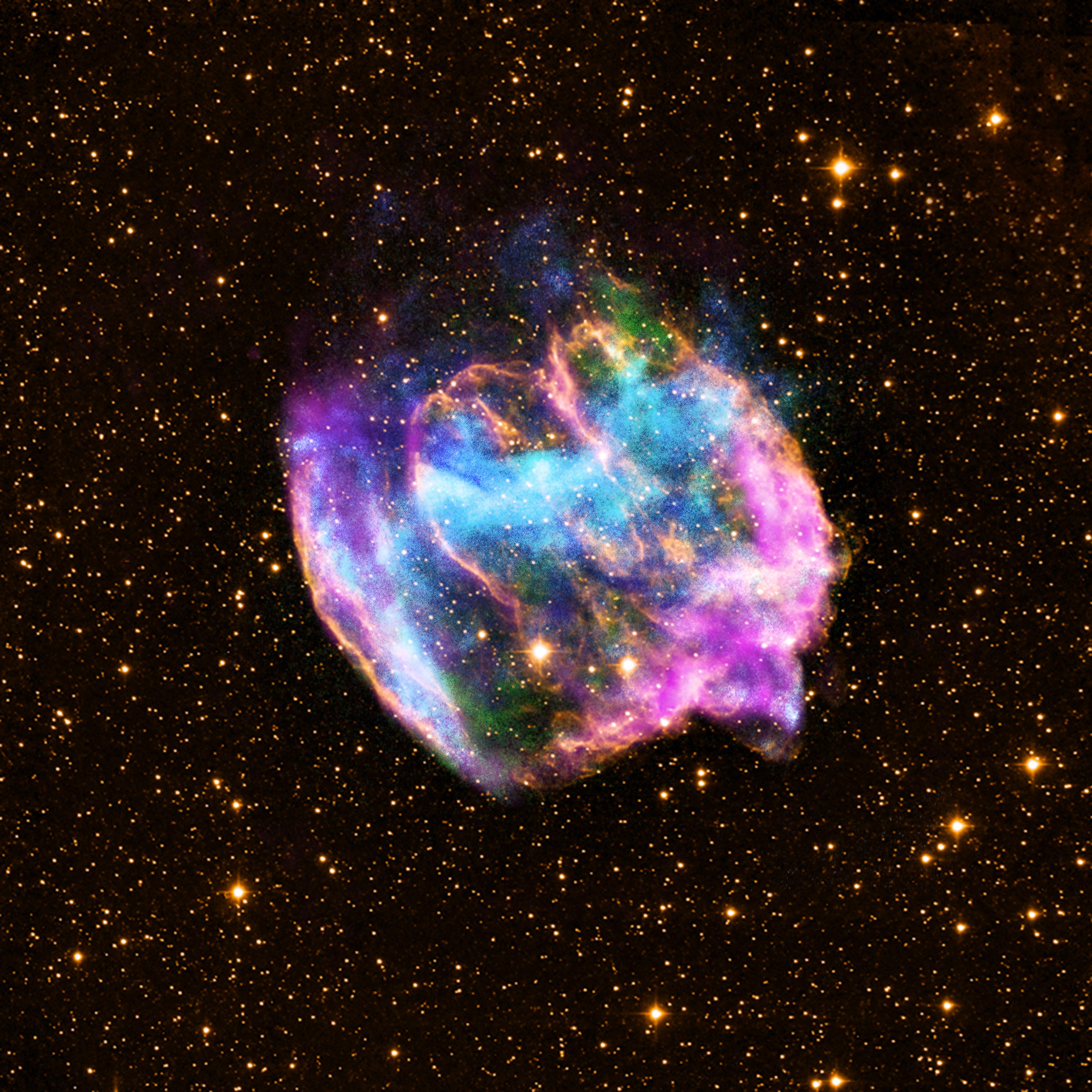 W49B Supernova, Chnadra, VLA, Palomar