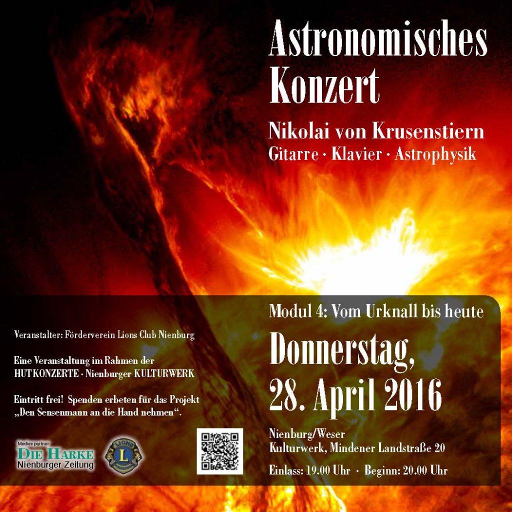 Flyer Astronomisches Konzert Page 1