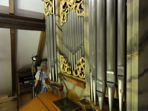 Ofterdingen Orgel